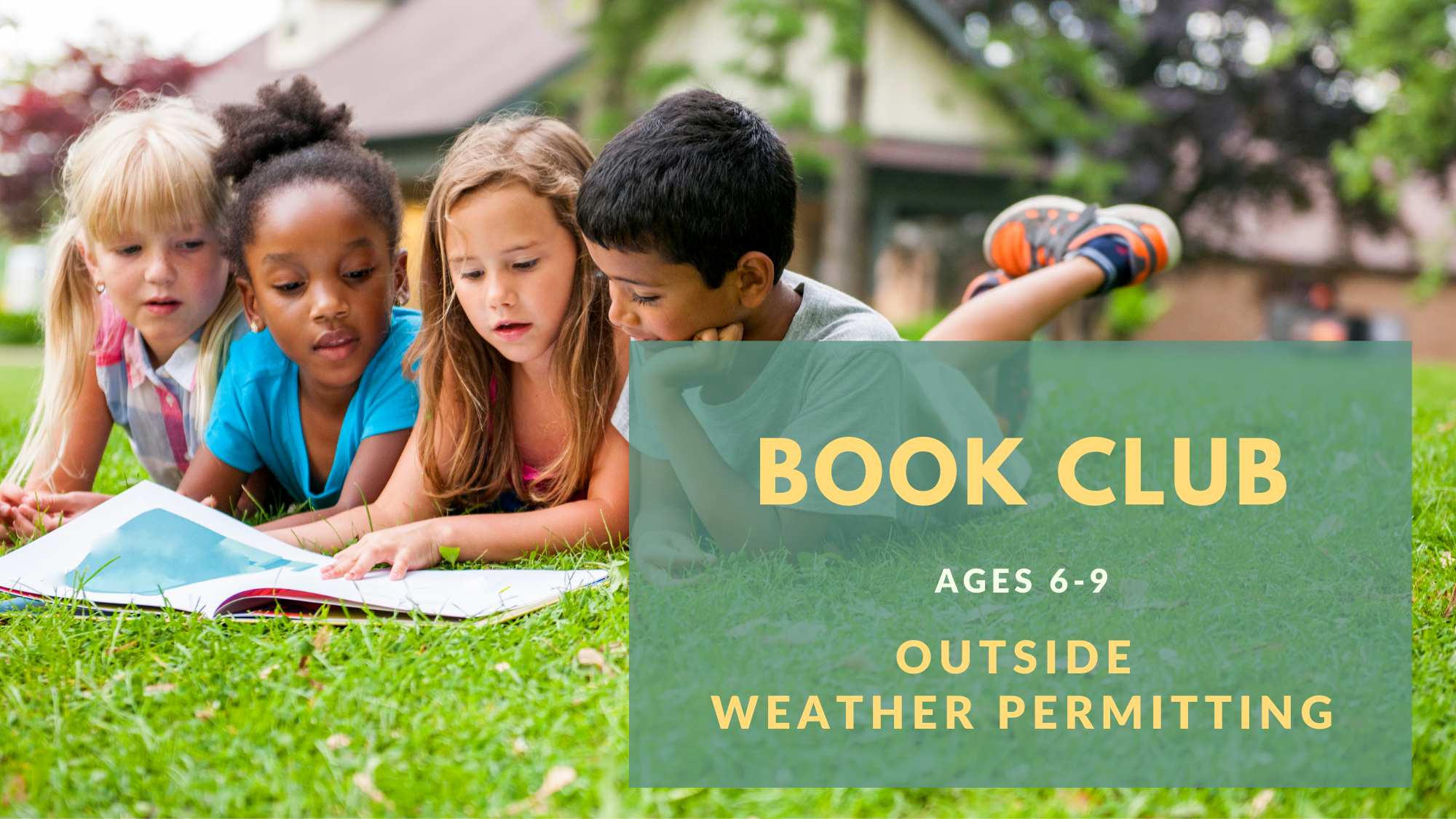 NEW Book Club for Kids