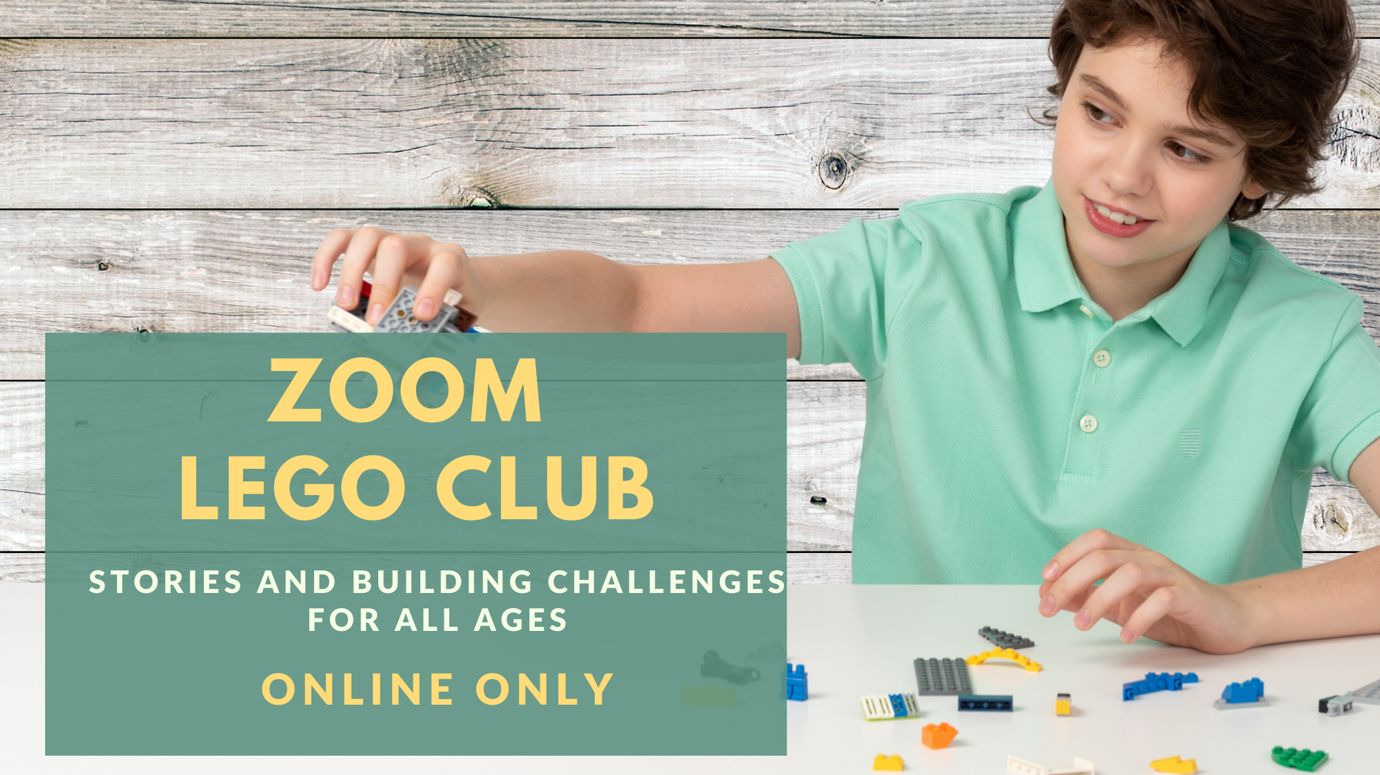 Zoom Lego Club - Online!