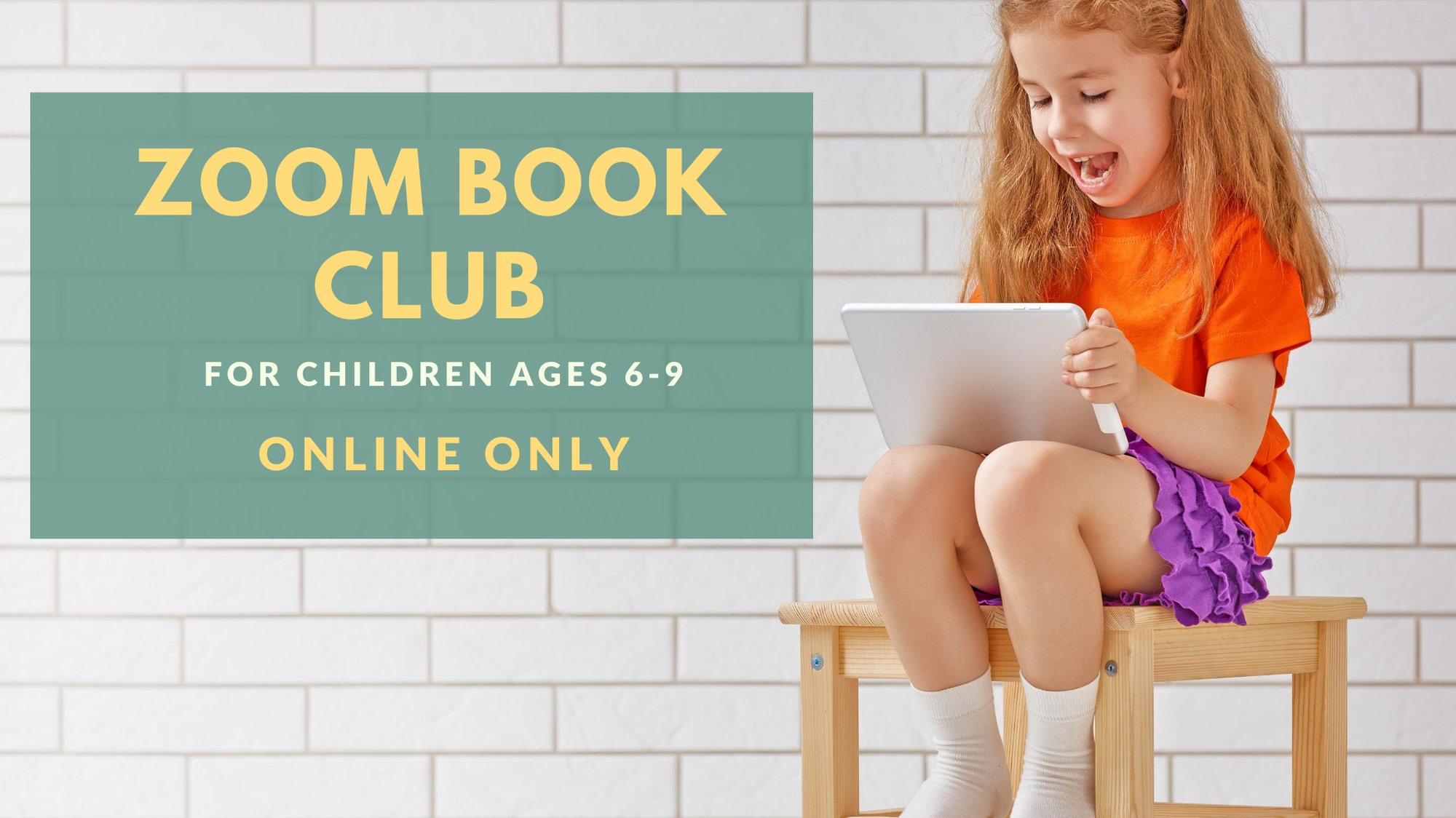 Zoom Book Club - Online!