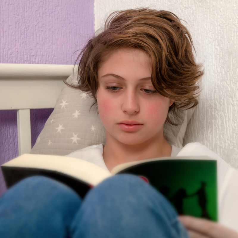 Summer Book Club Zoom Session (ages 10-14)